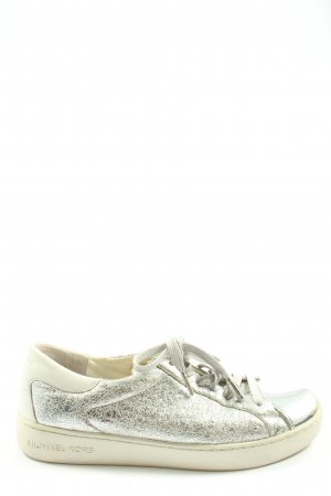 Michael Kors Lace-Up Sneaker silver-colored casual look