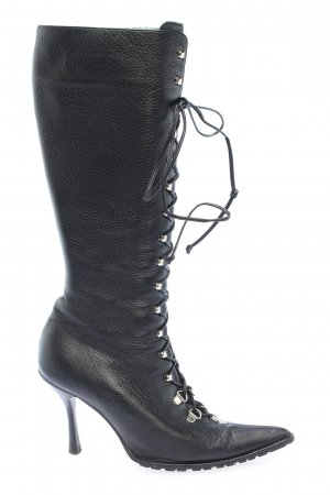 Michael Kors Lace-up Boots black casual look
