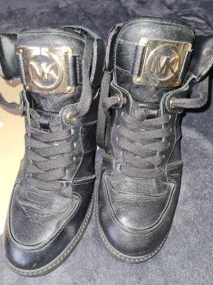 Michael Kors Platform Trainers black
