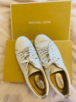 Michael Kors Chaussure skate blanc
