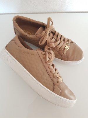 MICHAEL KORS Schuhe / Sneaker, Gr.37, Leder, mit MK Logos, camel/beige