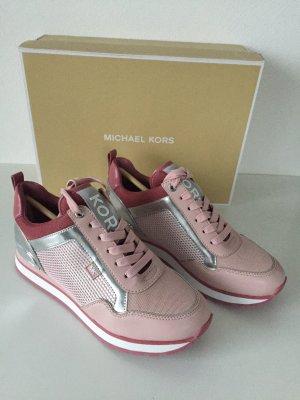 Michael Kors Schuhe Sneaker Gr 7 / 37 NEU rosa Maddy Trainer Blossom