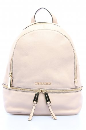 "Michael Kors Schulrucksack ""Rhea Zip Medium Backpack"" wollweiß"