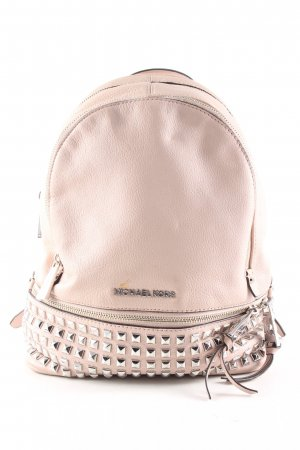 Michael Kors Mochila escolar nude-color plata estilo «business»