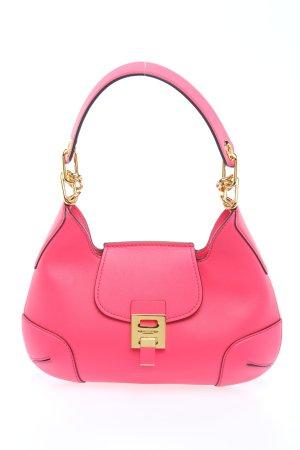 Michael Kors Schultertasche pink-goldfarben Elegant