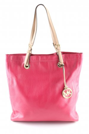 Michael Kors Shoulder Bag red-natural white business style