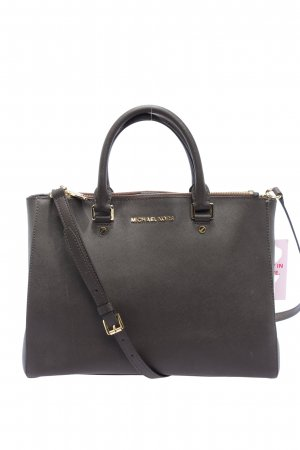 Michael Kors Schultertasche braun Business-Look