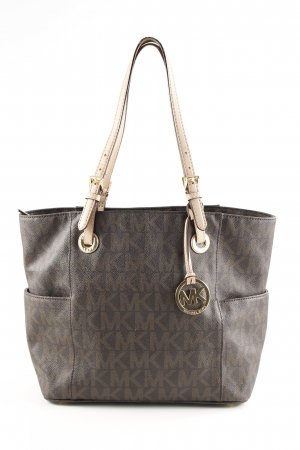 Michael Kors Schultertasche Allover-Druck Business-Look