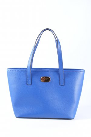 Michael Kors Schultertasche blau Business-Look