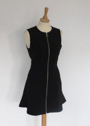 Michael Kors schwarzes Kleid mit leichtem Schösschen 8 36 S