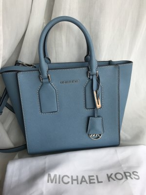 Michael Kors Selby MD Satchel Sky Top-Zustand