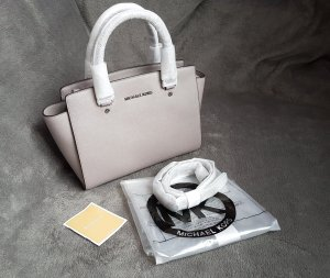 Michael Kors Selma MD Pearl Grey Hellgrau Silber ♥
