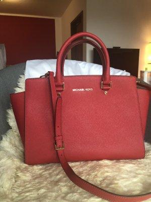 Michael Kors Selma Medium Handtasche in ROT
