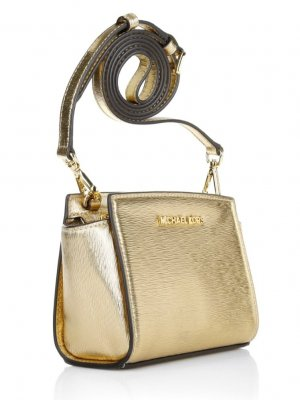 Michael Kors Selma mini Gold crossbody