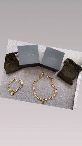Michael Kors Set Gold, Armkette+Halskette