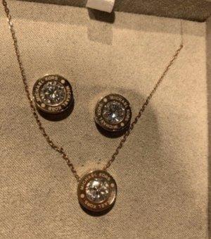 Michael Kors Set Ohrringe Kette neu verschweißt