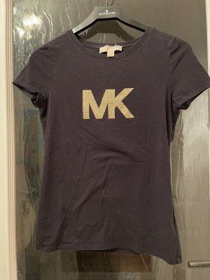 Michael Kors T-Shirt black-gold-colored