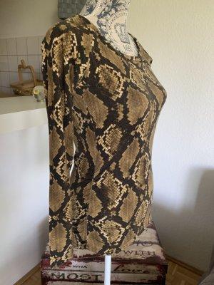 Michael Kors Shirt/Top - Brown/Black - Größe S 34/36 - Print!