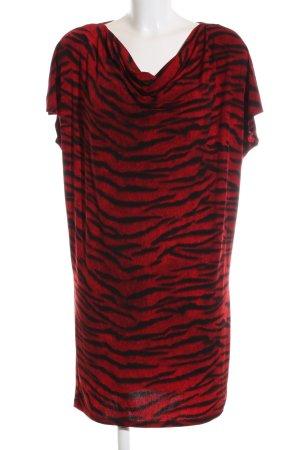 Michael Kors Shirt Dress red-black allover print elegant