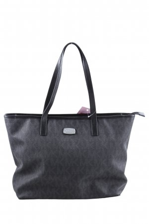 Michael Kors Shopper hellgrau Allover-Druck Casual-Look