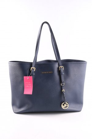Michael Kors Shopper blau Business-Look