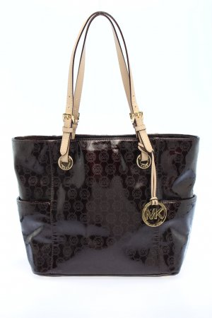 Michael Kors Shopper schwarz Allover-Druck Business-Look