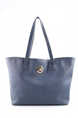 Michael Kors Shopper blau Business-Look