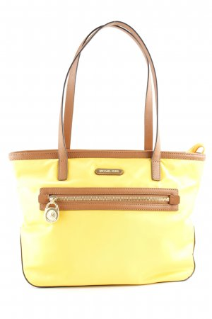 Michael Kors Shopper gelb-braun Casual-Look