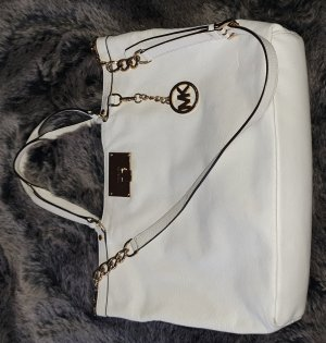 Michael Kors Shopper In Weiss