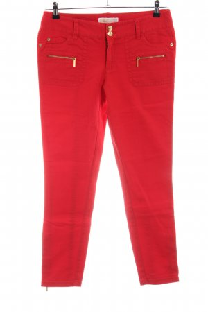 Michael Kors Jeans skinny rosso Cotone