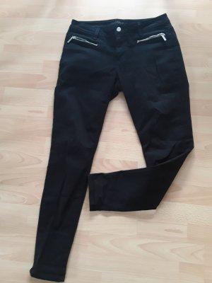 Michael Kors Skinny Jeans schwarz