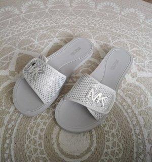 Michael Kors Sandales confort blanc-argenté