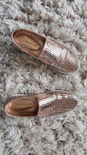 Michael Kors Pantofola color oro rosa