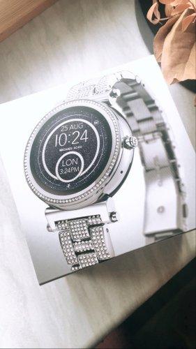 Michael Kors Digitaal horloge zilver-lichtgrijs