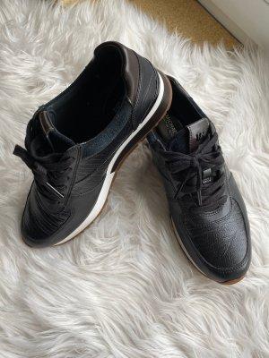 Michael Kors Lace-Up Sneaker black-black brown