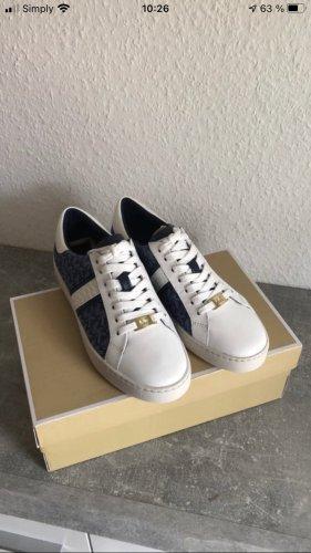 Michael Kors Lace-Up Sneaker white-blue
