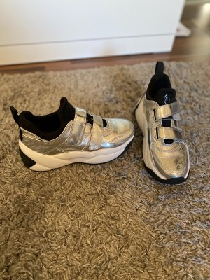 Michael Kors Velcro Sneakers silver-colored