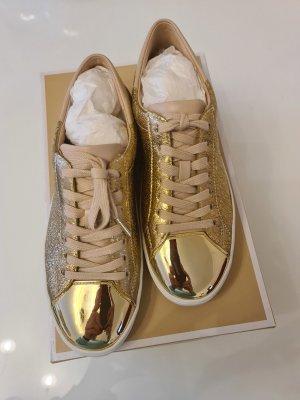 Michael Kors Sneaker con tacco oro
