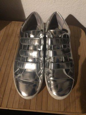 Michael Kors Sneaker Gr.41 Silber glänzend