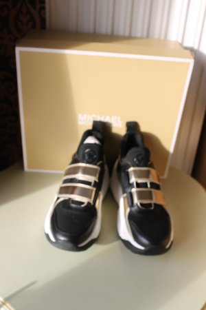 Michael Kors Sneaker Keeley Trainer schwarz-gold Gr.36