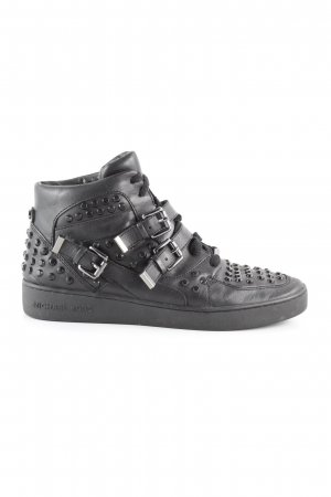 Michael Kors Zapatillas con velcro negro look casual