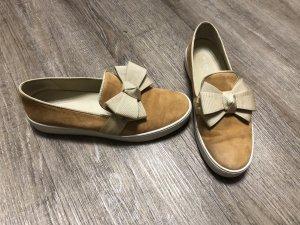 Michael Kors Sneaker Slipons Slip On Turnschuhe Gr. 38 neuwertig Wildleder Schleife