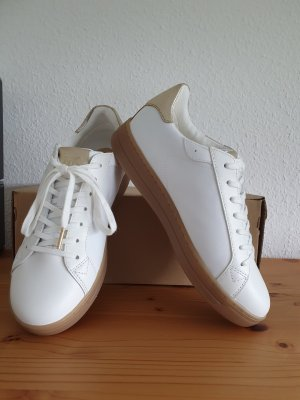 Michael Kors Lace-Up Sneaker white-gold-colored