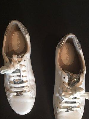 Michael Kors Sneaker weiß / Glitzer - Gr. 40