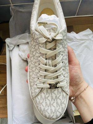 Michael Kors Sneaker stringata crema