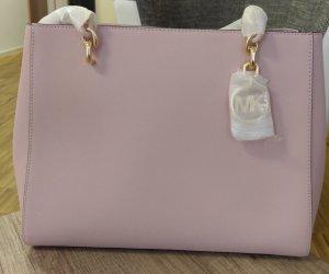Michael Kors Sofia Large Tasche Handtasche Shopper Blossom rosa gold Schuktertasche