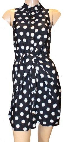 MICHAEL KORS Sommer Kleid schwarz weiß Gr. 34