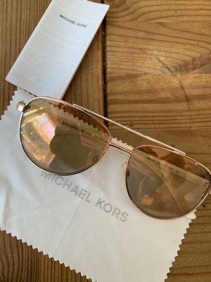 Michael Kors Pilotenbril roségoud-wit