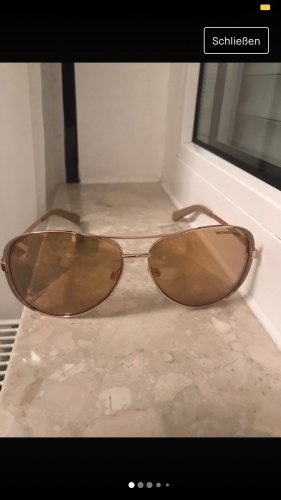 Michael Kors Oval Sunglasses rose-gold-coloured