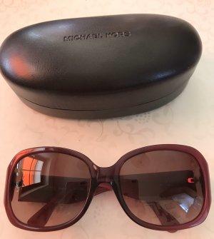 Michael Kors Gafas de sol cuadradas púrpura-marrón oscuro